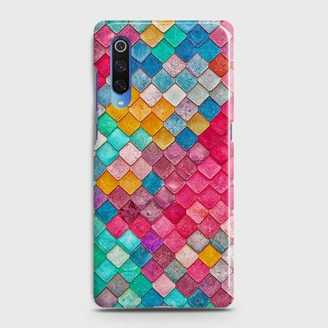 Chic Colorful Mermaid 3D Case For Xiaomi Mi 9