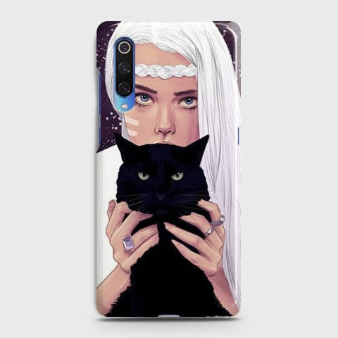 Trendy Wild Black Cat Case For Xiaomi Mi 9