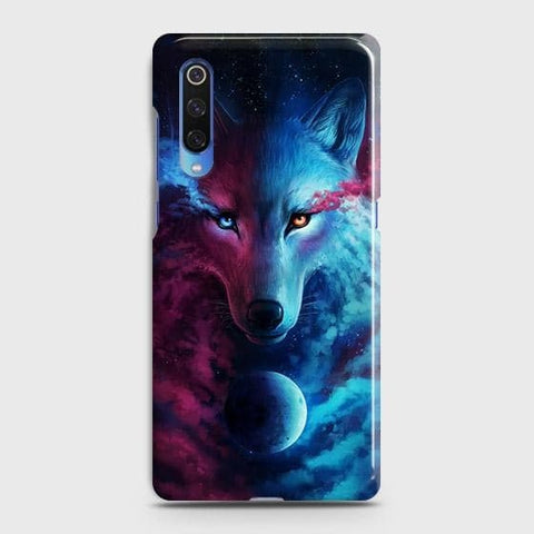 Infinity Wolf 3D Trendy Case For Xiaomi Mi 9