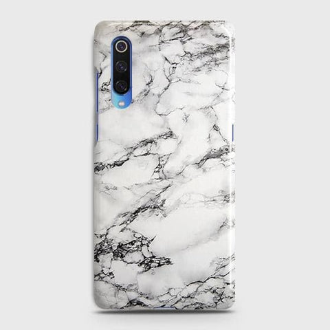 Trendy White Floor Marble Case For Xiaomi Mi 9