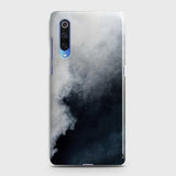Xiaomi Mi 9 Cover - Trendy White Floor Marble Printed Hard Case with Life Time Colors Guarantee