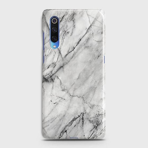 Trendy White Marble Case For Xiaomi Mi 9