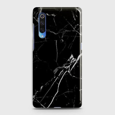 Black Modern Classic Marble Case For Xiaomi Mi 9