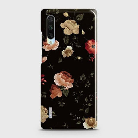 Dark Rose Vintage Flowers 3D Print Case For Xiaomi Mi A3