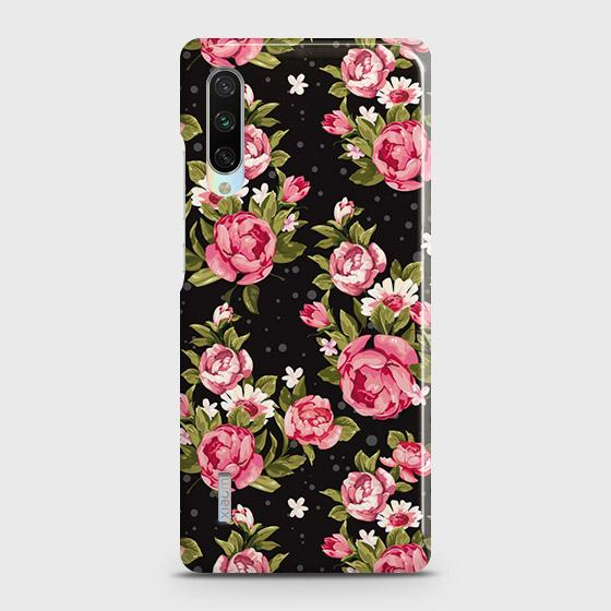 Trendy Pink Rose Vintage Flowers Case For Xiaomi Mi A3