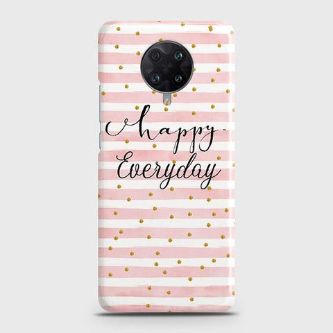 Xiaomi Poco F2 Pro Cover - Trendy Happy Everyday Printed Hard Case with Life Time Colors Guarantee
