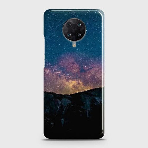 Xiaomi Poco F2 Pro Cover - Embrace Dark Galaxy  Trendy Printed Hard Case with Life Time Colors Guarantee