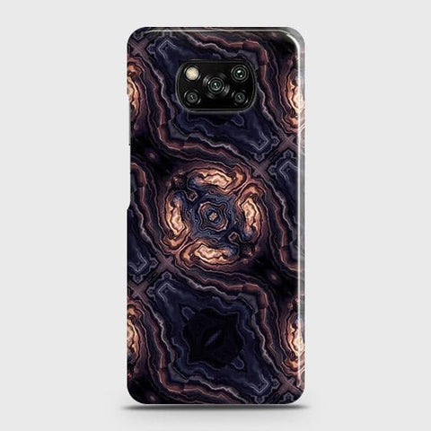 Xiaomi Poco X3 Cover - Source of Creativity Trendy Printed Hard Case with Life Time Colors Guarantee