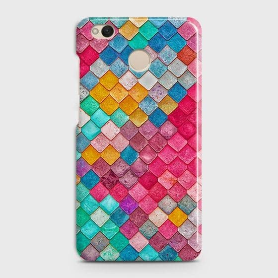 Xiaomi Redmi 4 / 4X Cover - Chic Colorful Mermaid Printed Hard Case with Life Time Colors Guarantee