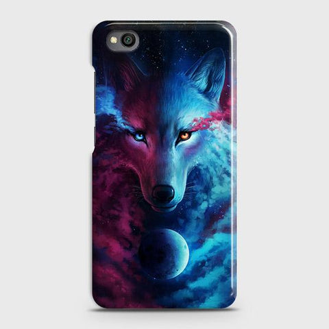 Infinity Wolf 3D Trendy Case For Xiaomi Redmi Go