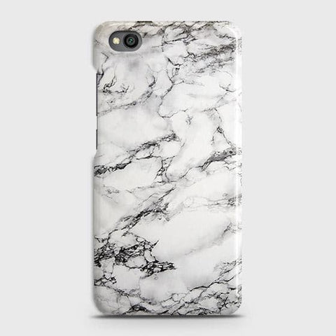 Trendy White Floor Marble Case For Xiaomi Redmi Go