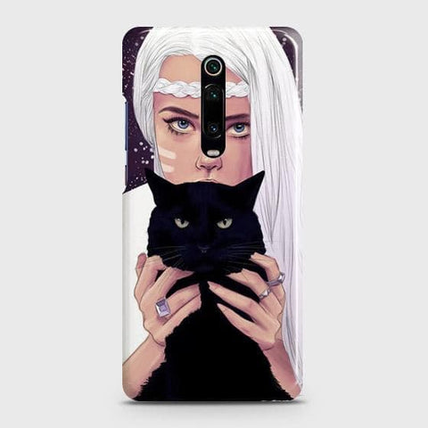 Trendy Wild Black Cat Case For Xiaomi Redmi K20