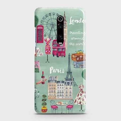 Xiaomi Redmi K20 Cover - London, Paris, New York ModernPrinted Hard Case with Life Time Colors Guarantee