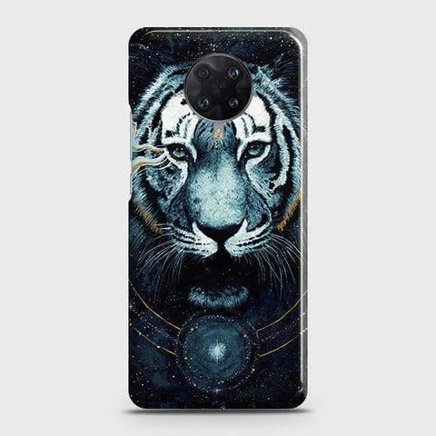 Xiaomi Redmi K30 Ultra Cover - Vintage Galaxy Tiger Printed Hard Case with Life Time Colors Guarantee