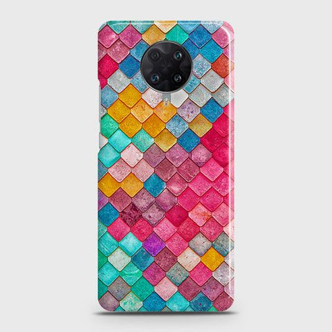 Xiaomi Redmi K30 Ultra Cover - Chic Colorful Mermaid Printed Hard Case with Life Time Colors Guarantee