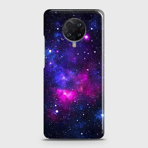 Xiaomi Redmi K30 Ultra Cover - Dark Galaxy Stars Modern Printed Hard Case with Life Time Colors Guarantee