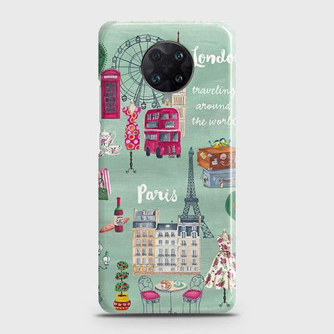 Xiaomi Redmi K30 Ultra Cover - London, Paris, New York ModernPrinted Hard Case with Life Time Colors Guarantee