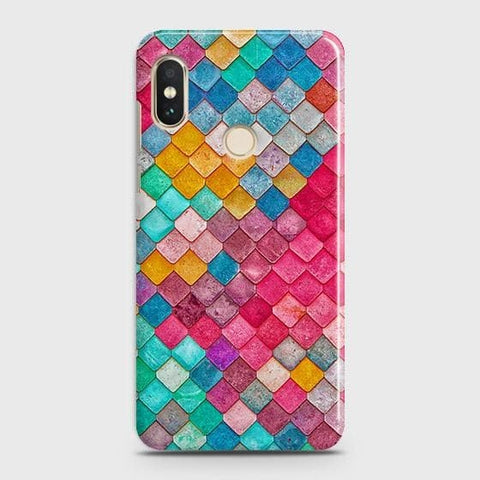 Chic Colorful Mermaid 3D Case For Xiaomi Redmi Note 5 Pro