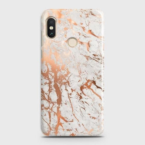 3D Print in Chic Rose Gold Chrome Style Case For Xiaomi Redmi Note 5 Pro