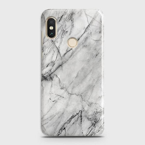 Trendy White Marble Case For Xiaomi Redmi Note 5 Pro