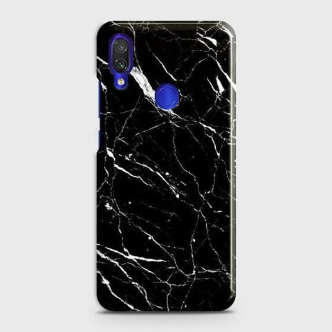 Trendy Black Marble Case For Xiaomi Redmi Note 7