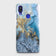 3D Trendy Golden & Blue Ocean Marble Case For Xiaomi Redmi Note 7
