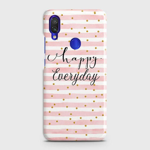 Trendy Happy Everyday Case For Xiaomi Redmi Note 7