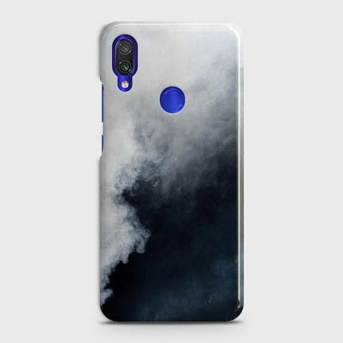 Trendy White Floor Marble Case For Xiaomi Redmi Note 7