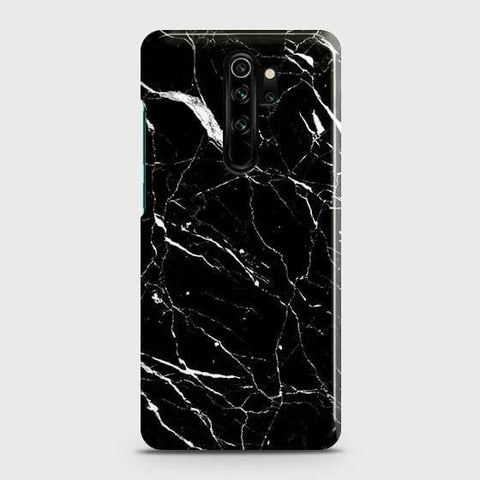Trendy Black Marble Snap On Case For Xiaomi Redmi Note 8 Pro