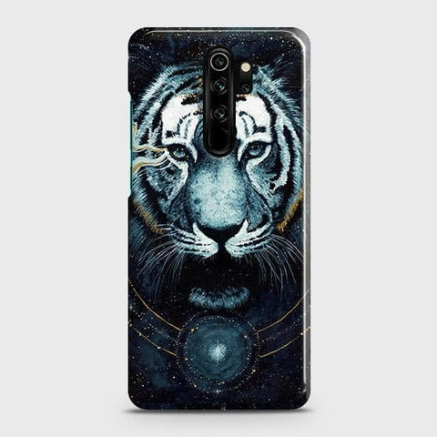 Vintage Galaxy 3D Tiger Snap On Case For Xiaomi Redmi Note 8 Pro