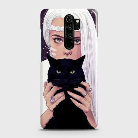 Trendy Wild Black Cat Snap On Case For Xiaomi Redmi Note 8 Pro