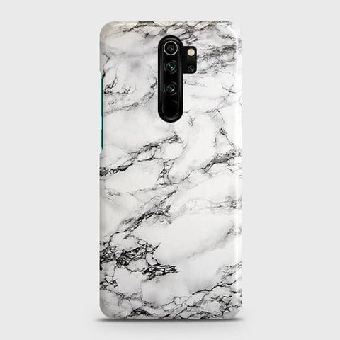 Trendy White Floor Marble Snap On Case For Xiaomi Redmi Note 8 Pro