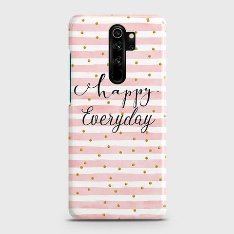 Trendy Happy Everyday Snap On Case For Xiaomi Redmi Note 8 Pro