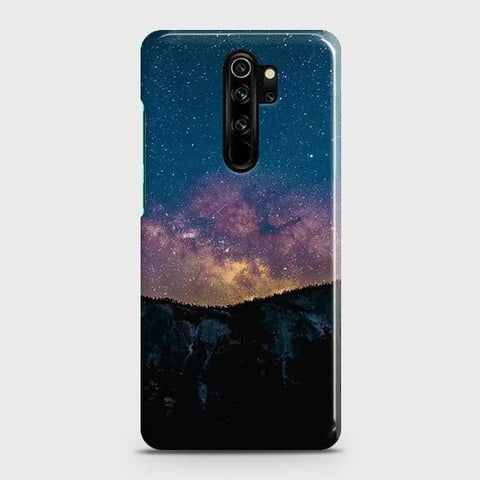 Embrace, Dark Galaxy 3D Trendy Snap On Case For Xiaomi Redmi Note 8 Pro