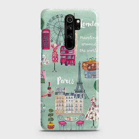 London, Paris, New York Modern Snap On Case For Xiaomi Redmi Note 8 Pro