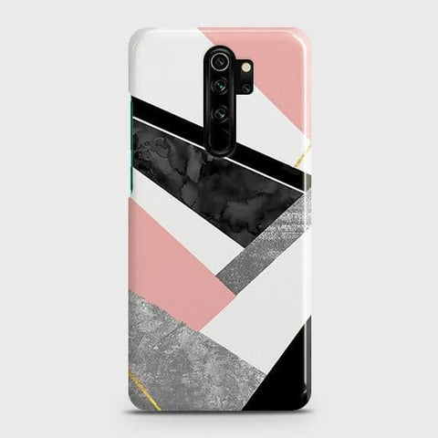 Geometric Luxe Marble Trendy Snap On Case For Xiaomi Redmi Note 8 Pro