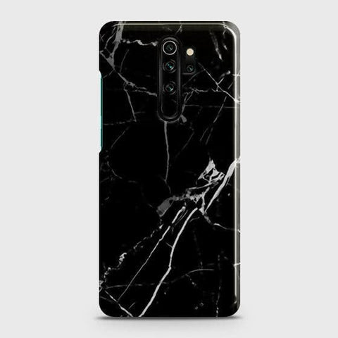 Black Modern Classic Marble Snap On Case For Xiaomi Redmi Note 8 Pro