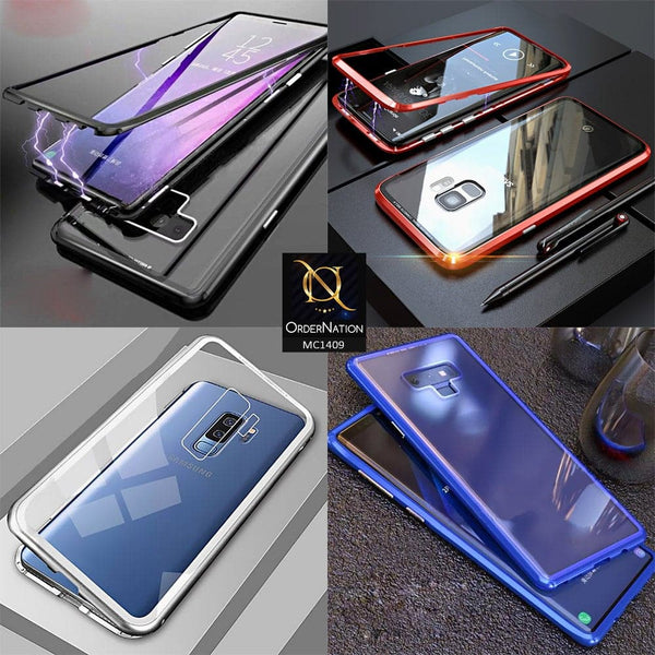 Luxury HQ Shatter Proof King Magnetic Case For Samsung Galaxy Note 9 - Blue