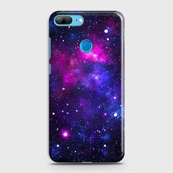 Huawei Honor 9 Lite - Dark Galaxy Stars Modern Printed Hard Case