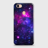 Oppo F5 / F5 Youth - Dark Galaxy Stars Modern Printed Hard Case