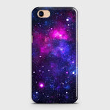 Oppo A83 - Dark Galaxy Stars Modern Printed Hard Case