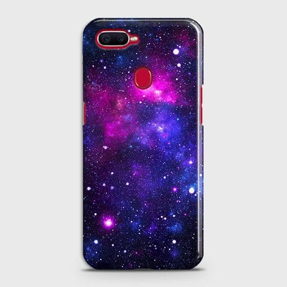 Oppo F9 - Dark Galaxy Stars Modern Printed Hard Case