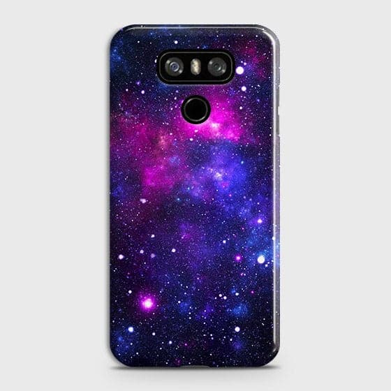 LG G6 - Dark Galaxy Stars Modern Printed Hard Case