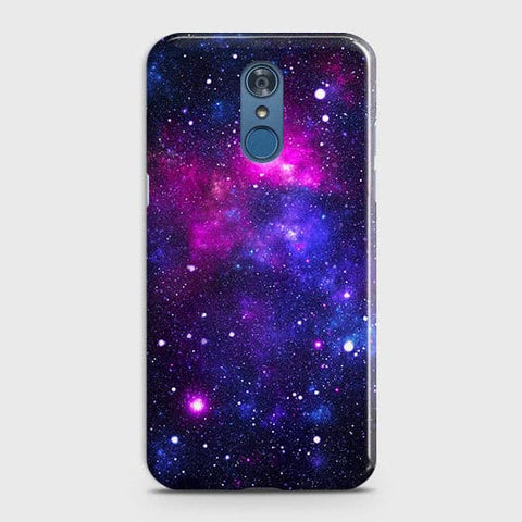 LG Q7 - Dark Galaxy Stars Modern Printed Hard Case