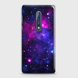 Nokia 8 - Dark Galaxy Stars Modern Printed Hard Case