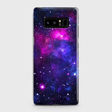 Samsung Galaxy Note 8 - Dark Galaxy Stars Modern Printed Hard Case