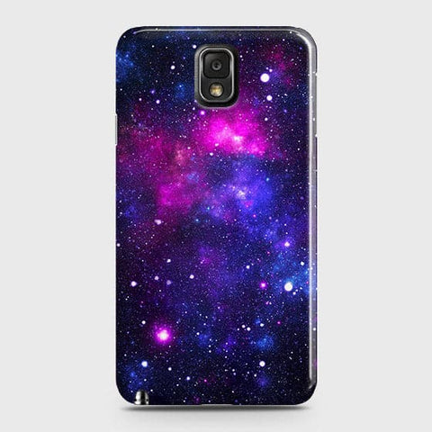 Samsung Galaxy Note 3 - Dark Galaxy Stars Modern Printed Hard Case