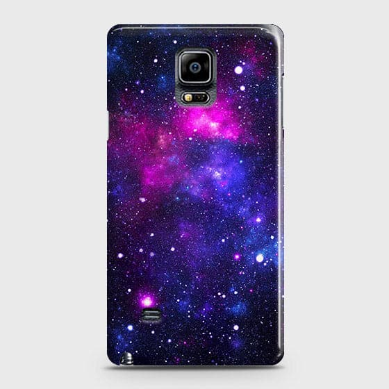 Samsung Galaxy Note 4 - Dark Galaxy Stars Modern Printed Hard Case