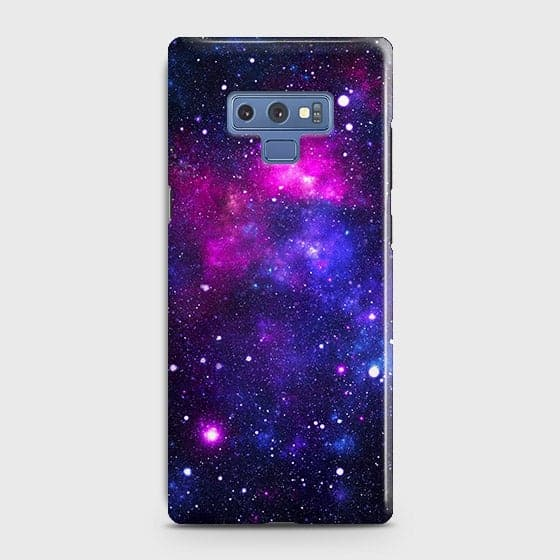 Samsung Galaxy Note 9 - Dark Galaxy Stars Modern Printed Hard Case