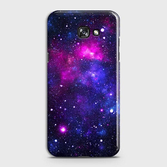 Samsung A7 2017 - Dark Galaxy Stars Modern Printed Hard Case